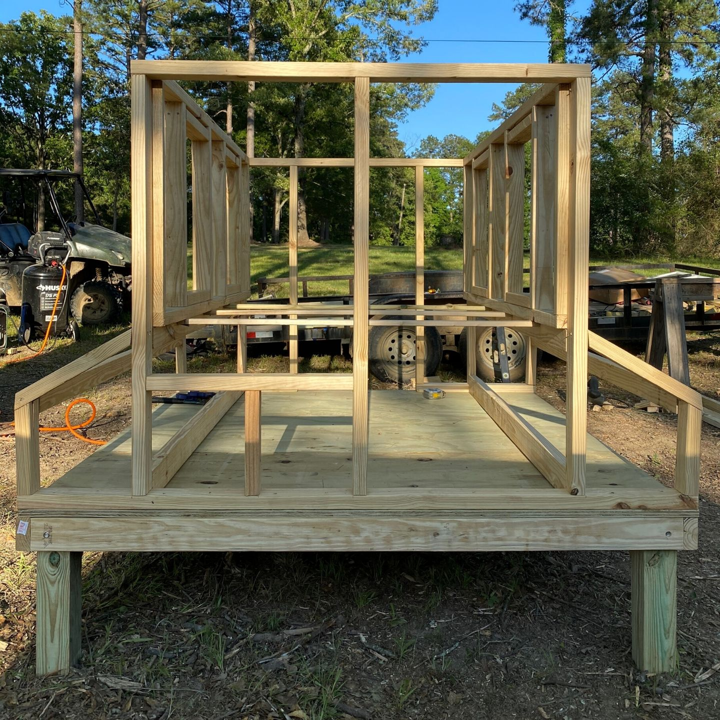 DIY Farmhouse Chicken Coop Frame