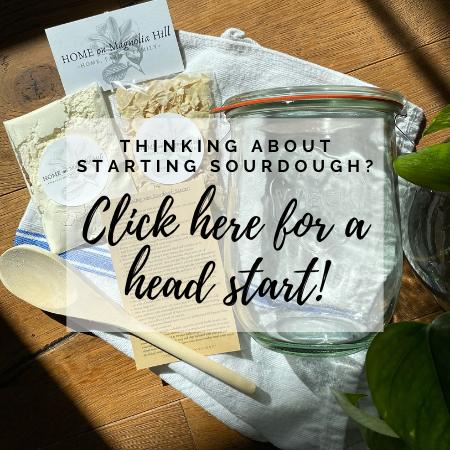 beginner's dehydrated sourdough starter kit
